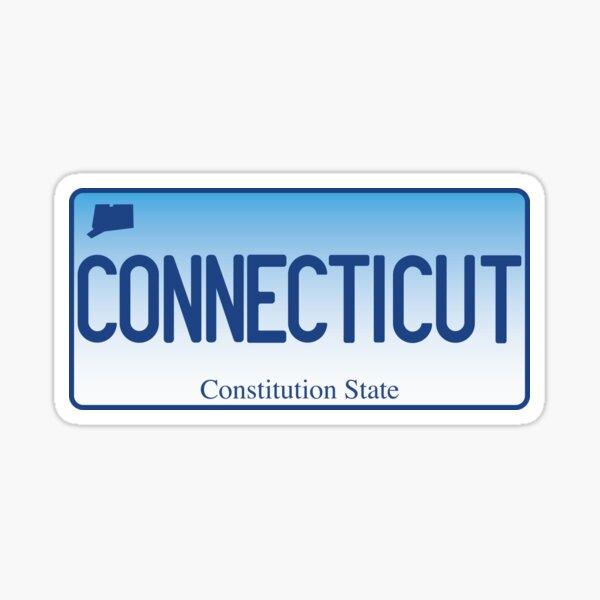 Connecticut Sticker Sticker