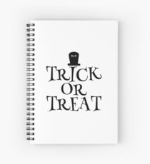 RIP Trick or Treat Spiral Notebook