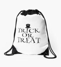 RIP Trick or Treat Drawstring Bag