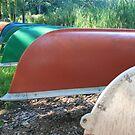 Canoes by MandieM