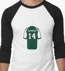 79aa00426 Sam Darnold Jersey Men s Baseball ¾ T-Shirt