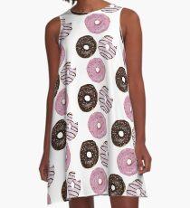 Vestido acampanado Triple Donut Delight