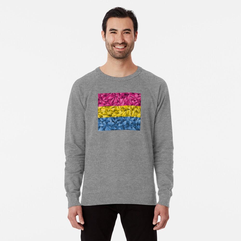 Abstract Pansexual Flag Lightweight Sweatshirt