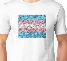 Abstract Transgender Flag Unisex T-Shirt