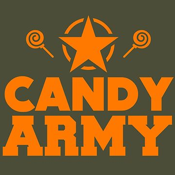Candy Army Halloween by tshirtsclick