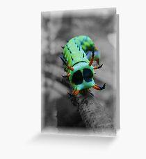 Green monster? Greeting Card