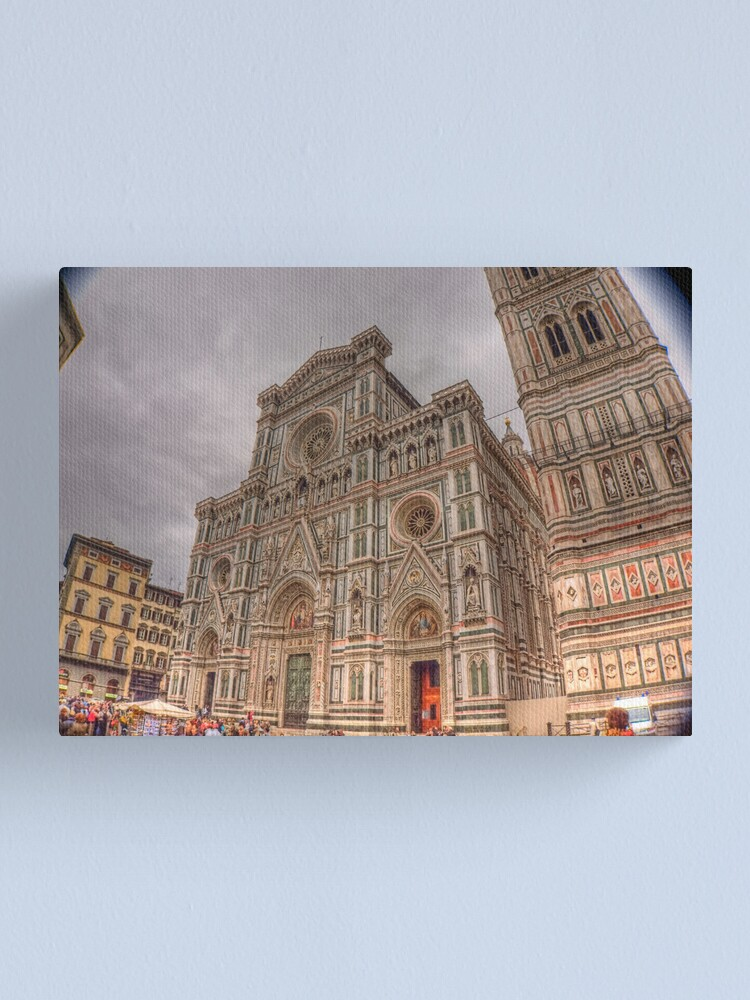 Alternate view of Florence's Duomo  Canvas Print