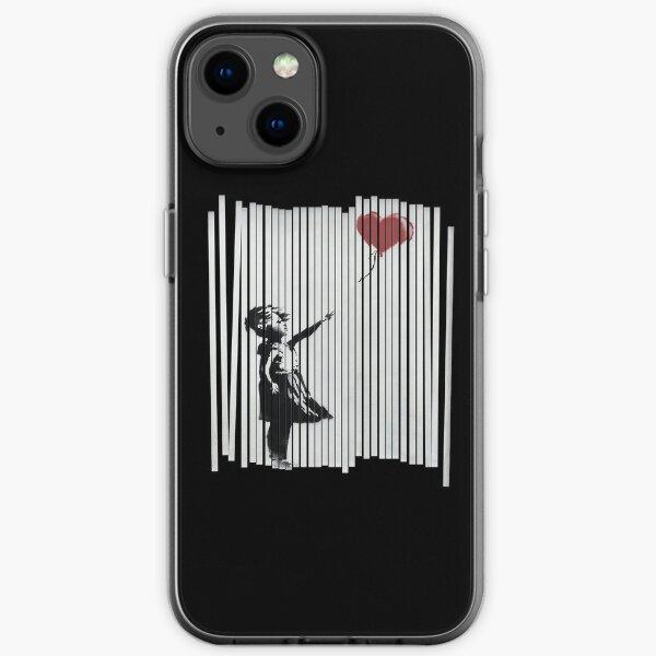 Hey! I Fixed It! Banksy Shredded Balloon Girl  iPhone Soft Case