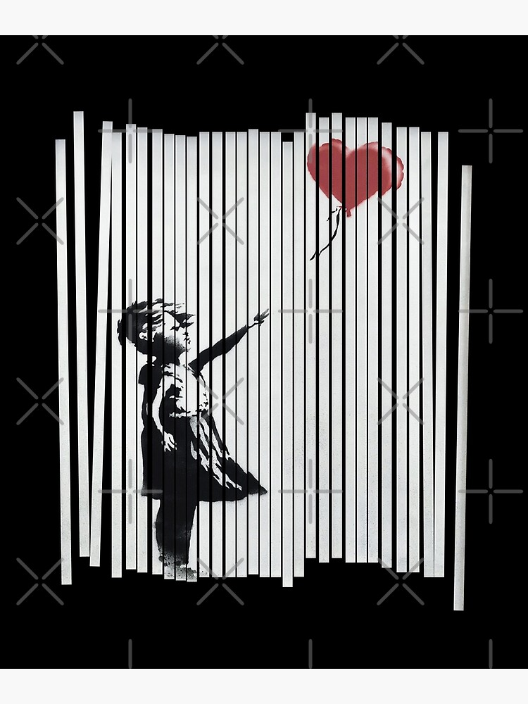 Hey! I Fixed It! Banksy Shredded Balloon Girl  by japdua