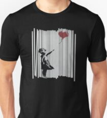 Hallo! Ich habe es repariert! Banksy Shredded Balloon Girl Unisex T-Shirt