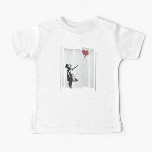 Hey! I Fixed It! Banksy Shredded Balloon Girl  Baby T-Shirt