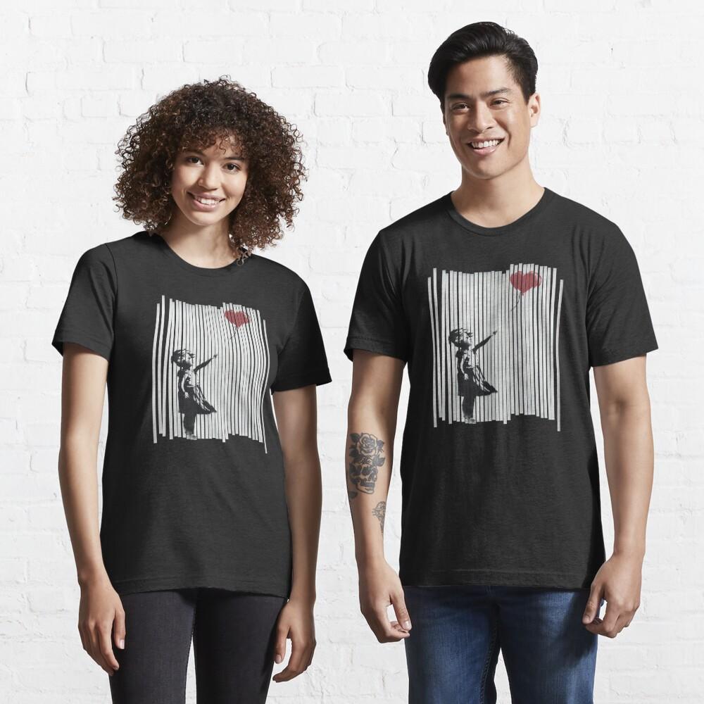 Hey! I Fixed It! Banksy Shredded Balloon Girl  Essential T-Shirt