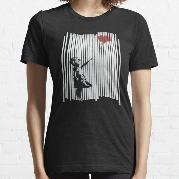 Hey! I Fixed It! Banksy Shredded Balloon Girl  Essential T-Shirt