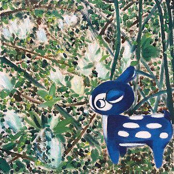 Oh deer, Spring by cuteism