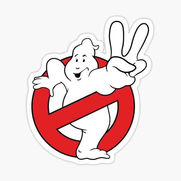 Logo Ghostbusters II Sticker