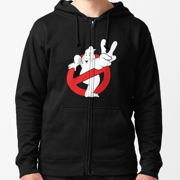 Ghostbusters II logo Zipped Hoodie