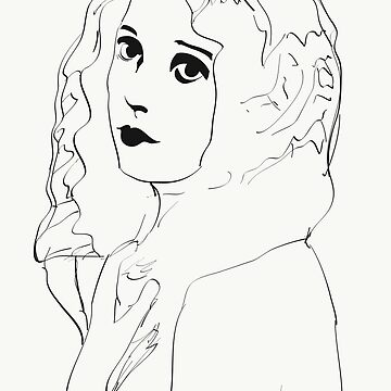 Silent Movie Actress by FrenchToasty