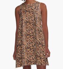 Coffee Beans A-Line Dress