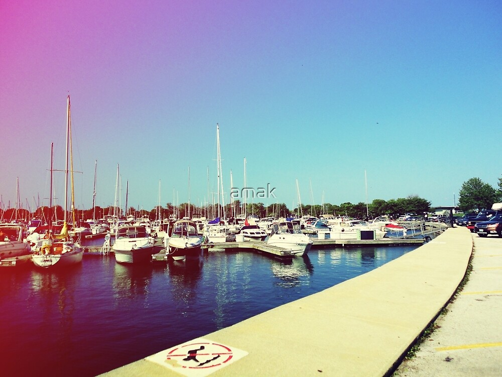 Boats III by amak