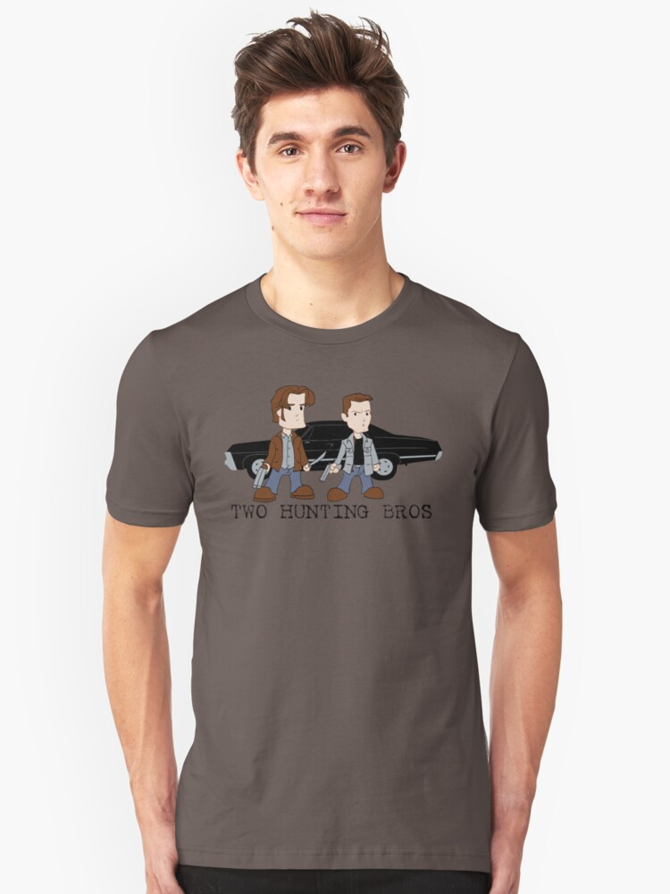 Two Hunting Bros Unisex T-Shirt Front