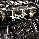 V8 DFV Cosworth Formula One engine by marc melander