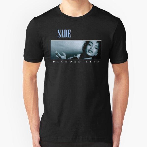 Sade Diamond Life - Transparent Slim Fit T-Shirt