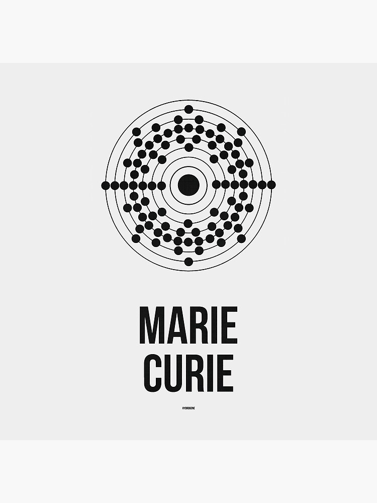 MARIE CURIE - Women in Science by Hydrogene