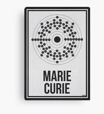 MARIE CURIE - Women in Science Canvas Print