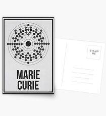 MARIE CURIE - Frauen in der Wissenschaft Postkarten