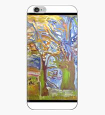 elf-tree my painting Fauve iPhone Case