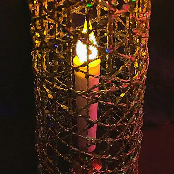 Christmas Candle Cage by bloomingvine