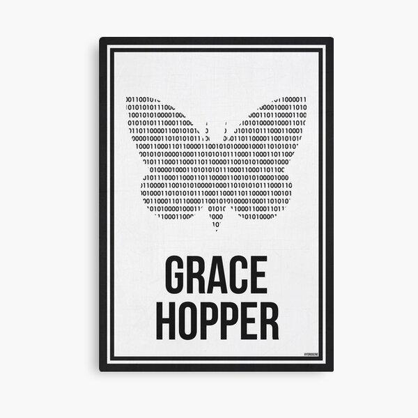 GRACE HOPPER - Women in Science Canvas Print