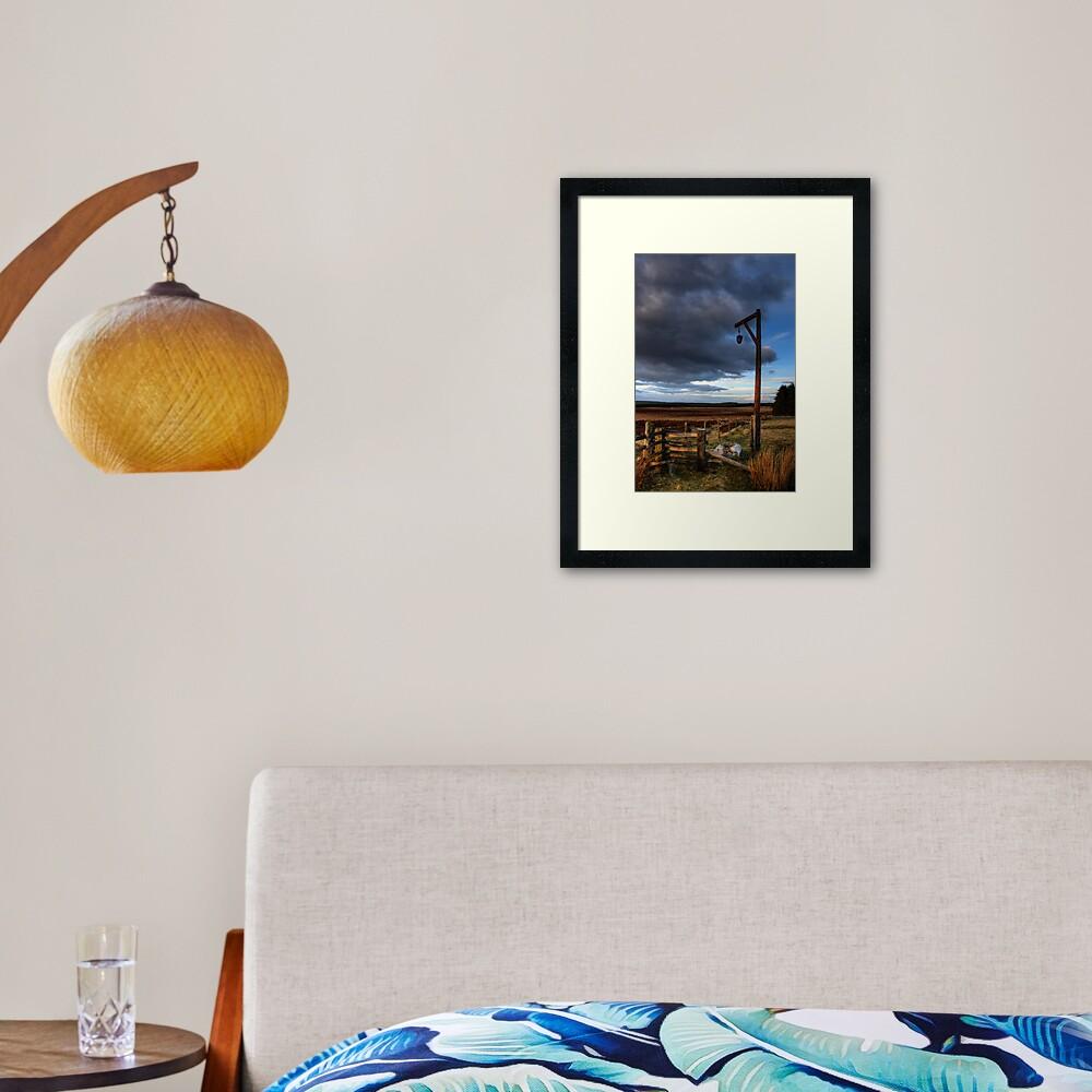 Winters Gibbert Framed Art Print