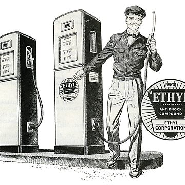 Ethyl Gasoline, 1950s Straight From The Pump by taspaul