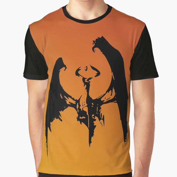 Magic Planeswalker Profile - Nicol Bolas - Abstract Graphic T-Shirt