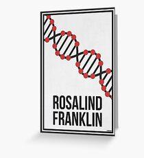 ROSALIND FRANKLIN - Women in Science Greeting Card