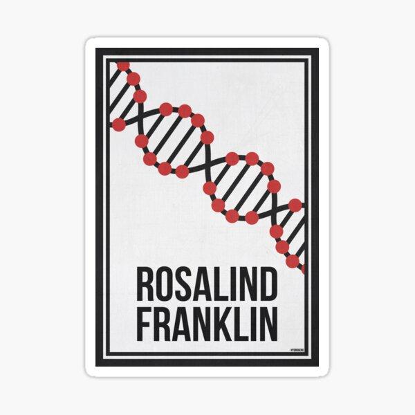 ROSALIND FRANKLIN - Mujeres en la ciencia Pegatina