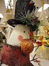Snowman's Shiny Nose by amak