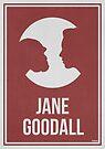 «JANE GOODALL - Mujeres en la ciencia» de Hydrogene