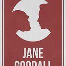 JANE GOODALL - Women in Science by Hydrogene