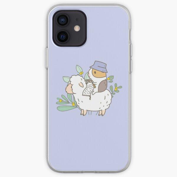 Bubu  the Guinea Pig, Knitting  iPhone Soft Case