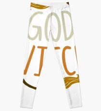 Gutes Hexe-Halloween-T-Shirt Leggings