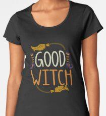 Gutes Hexe-Halloween-T-Shirt Frauen Premium T-Shirts