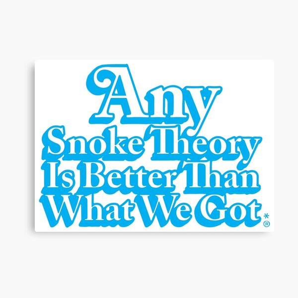 Any Snoke Theory Kenner Logo Canvas Print