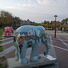 Elephant parade in Amsterdam by Katherine Maguire