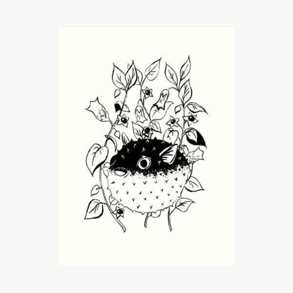 "Inktober 2018 - Day 1 - ""Poisonous"" Art Print"