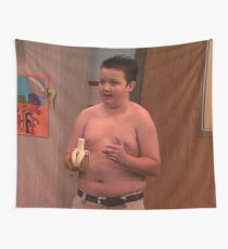 gibby icarly meme Wall Tapestry