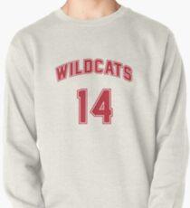 Troy Bolton 14 East High School Wildcats Basketball Team Pullover Sweatshirt