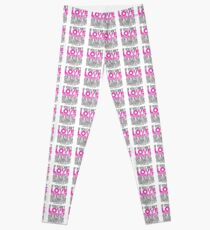 """RuPaul's Drag Race - """"If You Can't Love Yourself..."""" Quote Leggings"""