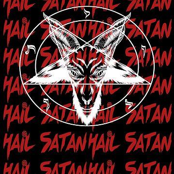 Hail Satan by nolamaddog